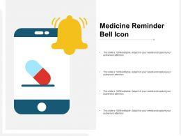 Medicine Reminder Bell Icon