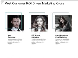 Meet Customer Roi Driven Marketing Cross Functional Role Marketing Cpb