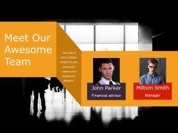 97925503 Style Essentials 1 Our Team 2 Piece Powerpoint Presentation Diagram Infographic Slide