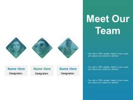 Meet Our Team Communication B195 Ppt Powerpoint Presentation File Layouts
