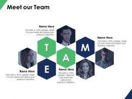 Meet Our Team Communication B99 Ppt Powerpoint Presentation File Themes