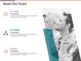 Meet Our Team Communication D26 Ppt Powerpoint Presentation Outline Slide Download