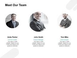 Meet Our Team Communication H79 Ppt Powerpoint Presentation Portfolio Gridlines