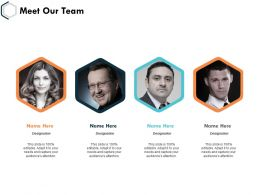Meet Our Team Communication Management K29 Ppt Powerpoint Presentation Influencers