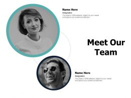 Meet Our Team Communication Planning A23 Ppt Powerpoint Presentation File Files