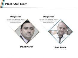 80835975 Style Essentials 1 Our Team 2 Piece Powerpoint Presentation Diagram Infographic Slide