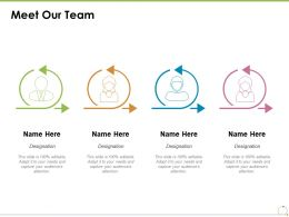 Meet Our Team Introduction Management Ppt Powerpoint Presentation Styles Inspiration
