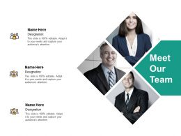 Meet Our Team Plan H205 Ppt Powerpoint Presentation Professional Layout