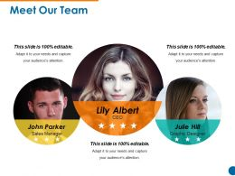 Meet Our Team Powerpoint Presentation Template 1