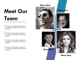 Meet Our Team Powerpoint Slide Background Image Powerpoint Themes