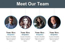 Meet Our Team Powerpoint Slide Template 2