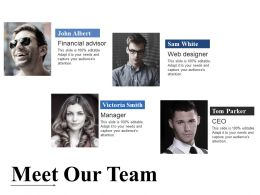 Meet Our Team Powerpoint Templates Download