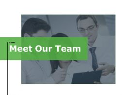 Meet Our Team Ppt File Styles