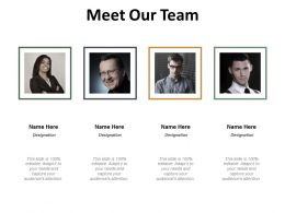 Meet Our Team Ppt Slides Design Inspiration