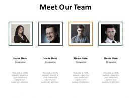 Meet Our Team Ppt Slides Design Inspiration