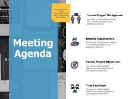 Meeting Agenda Management Ppt Powerpoint Presentation Icon