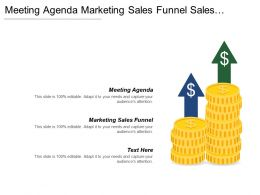 Meeting Agenda Marketing Sales Funnel Sales Management Forecasting Cpb
