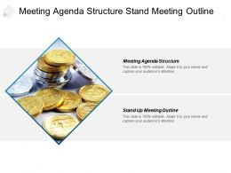 Meeting Agenda Structure Stand Meeting Outline Competitive Cpb