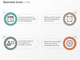 Meeting Deadlines Time Efficiency Business Solutions And Goals Ppt Icons Graphic
