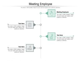 Meeting Employee Ppt Powerpoint Presentation Icon Background Cpb