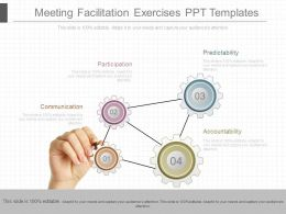 Meeting Facilitation Exercises Ppt Templates