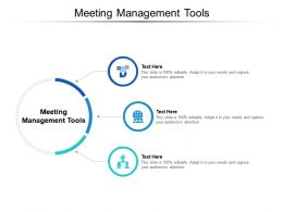 Meeting Management Tools Ppt Powerpoint Presentation Backgrounds Cpb