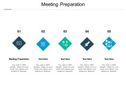 Meeting Preparation Ppt Powerpoint Presentation Professional Tips Cpb