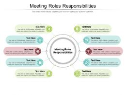 Meeting Roles Responsibilities Ppt Powerpoint Presentation Inspiration Structure Cpb