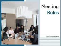Meeting Rules Conversation Transparency Agenda Management Information