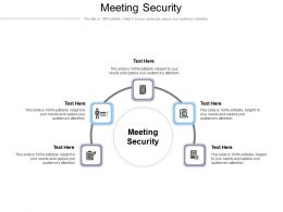Meeting Security Ppt Powerpoint Presentation Layouts Grid Cpb