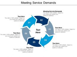 Meeting Service Demands Ppt Powerpoint Presentation Gallery Information Cpb