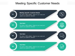 Meeting Specific Customer Needs Ppt Powerpoint Presentation Inspiration Picture Cpb