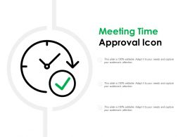Meeting Time Approval Icon
