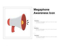 Megaphone Awareness Icon