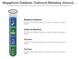 Megaphone Database Outbound Marketing Inbound Marketing Information Technology Innovation