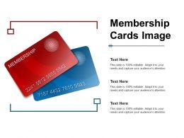 Membership Cards Image
