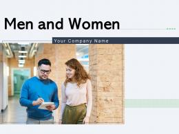Men And Women Equality Engagement Business Representing Responsibility