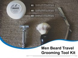 Men Beard Travel Grooming Tool Kit