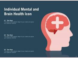 Mental Health Icon Positive Thinking Individual Gear Checklist Magnifying Arrows