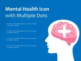 Mental Health Icon With Multiple Dots