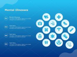 Mental Illnesses Ppt Powerpoint Presentation Infographics Design Inspiration