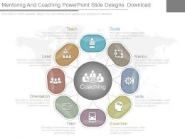 Mentoring And Coaching Powerpoint Slide Designs Download