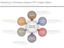 Mentoring In Workplace Diagram Ppt Images Gallery