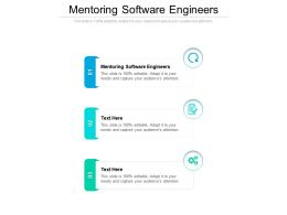 Mentoring Software Engineers Ppt Powerpoint Presentation Summary Slide Cpb