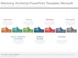 Mentoring Workshop Powerpoint Templates Microsoft