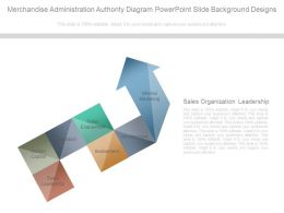 Merchandise Administration Authority Diagram Powerpoint Slide Background Designs