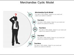 Merchandise Cyclic Model Ppt Powerpoint Presentation File Graphic Images Cpb
