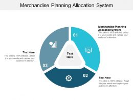 Merchandise Planning Allocation System Ppt Powerpoint Presentation Infographic Template Cpb