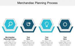 Merchandise Planning Process Ppt Powerpoint Presentation Ideas Cpb
