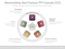 Merchandising Best Practices Ppt Example 2015